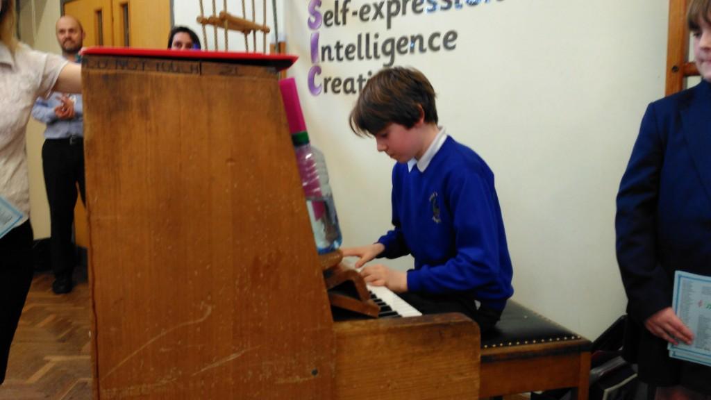 Edward on Piano